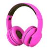 Auriculares inalámbricos P65 con Bluetooth 4.2, FM, Micrófono - Rosado al mejor precio solo en loi