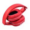 Auriculares Inalámbricos SY-BT1608 Plegables Batería Recargable - Rojo al mejor precio solo en loi