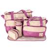 Set de bolsos maternales - 5 PIEZAS Violeta al mejor precio solo en loi