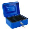 Caja metálica para Dinero Azul al mejor precio solo en loi