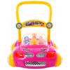 Andador Caminador para Bebé con Música y Luces Diseño Autito - Fucsia al mejor precio solo en loi