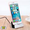 Base Cargador para Iphone Dock Stand Conexión Lightning USB - Negro al mejor precio solo en loi