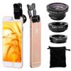 Lente Universal 3 en 1 Lente ojo de pez + lente macro + lente gran angular al mejor precio solo en loi