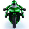Moto a control remoto con luces LED - Verde al mejor precio solo en loi