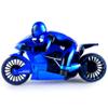 Moto a control remoto con luces LED - Azul la mejor precio solo en loi