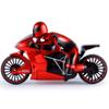 Moto a control remoto con luces LED - Rojo al mejor precio solo en loi