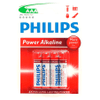 Pilas Alcalinas AAA Philips Pack x4 al mejor precio solo en LOI