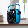 Parlante Bluetooth Kolke Park Led con Micrófono - Azul al mejor precio solo en loi