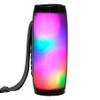 Parlante Bluetooth T&G  Portátil 10W RMS con Luces LED - Negro al mejor precio solo en loi