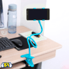 Soporte para Celular Pinza con Brazo Flexible - Celeste al mejor precio solo en loi