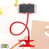 Soporte para Celular Pinza con Brazo Flexible - Rojo al mejor precio solo en loi