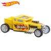 Auto Pullback HOT WHEELS 13cm Fast Racer Bone Shaker - Amarillo al mejor precio solo en loi