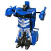 Auto Transformer Robot a Control Remoto - Azul al mejor precio solo en loi