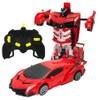 Auto Transformer Robot a Control Remoto - Rojo al mejor precio solo en loi