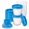 Vasos para Almacenamiento de Leche Materna Philps Avent con Tapas Herméticas Ideal Heladera o Freezer al mejor precio solo en loi