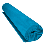 Alfombra Yoga en PVC Azul