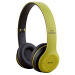 Auriculares Bluetooth inalámbricos P47 MicroSD Verde