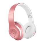 Auriculares Bluetooth L150 Plegables Confort y Potencia - Rosa