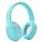 Auriculares Bluetooth SY-BT1608 Plegables Calidad y Comodidad Superior - Verde Agua