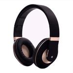 Auriculares Bluetooth BT1609 Plegables Calidad y Comodidad Superior - Dorado