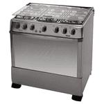 Cocina TEM Avanti Acero Inox Super Gas 6 Hornallas