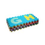 Alfombra Puzzle Alfabeto 26 Piezas en Goma Eva NUEVA 30x30cm 1cm de Espesor