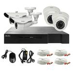 Kit de Seguridad Kolke HD DVR 4 Cámaras + Accesorios