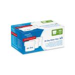 Pack de 3 filtros EVOLVE purificadores de agua