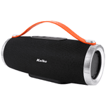 Parlante Portable Kolke Aura 20W RMS Bluetooth Radio FM Entradas USB y SD - Negro