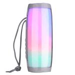 Parlante Bluetooth T&G Portátil 10W RMS con Luces LED - Gris