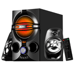 Parlantes Home Theatre 2.1 Kolke Bluetooth USB FM AUX