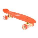 Patineta Skate con Ejes de Aluminio y Ruedas en PU - Anaranjado