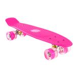 Patineta Skate con Ejes de Aluminio y Ruedas en PU - Rosa