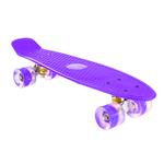 Patineta Skate con Ejes de Aluminio y Ruedas en PU - Violeta