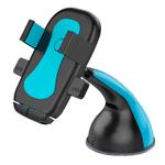 Soporte de Celular con Ventosa para Auto Rotación 360° - Azul