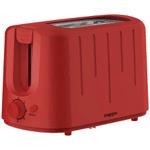 Tostadora Doble Nappo 850w 6 Niveles de Tostado - Rojo