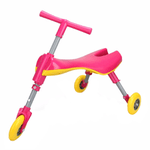 Triciclo Andador Plegable Infantil Super Resistente - Rosado