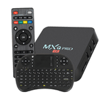 Smart TV Box Pro 4K Ultra HD Quad Core Android 7.1 +Teclado Completo