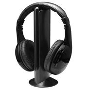 Auriculares Inalámbricos con FM multifunción Negros
