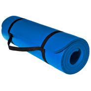 Alfombra para Yoga de 1cm espesor en NVR Azul al mejor precio solo en loi