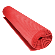 Alfombra Yoga 3mm en PVC roja al mejor precio solo en loi