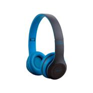 Auriculares P47 inalámbricos con Bluetooth - Celeste al mejor precio solo en loi