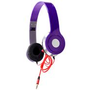 Auriculares BASS Plegables con Micrófono Livianos y Potentes - Violeta al mejor precio solo en loi