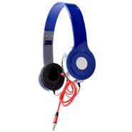 Auriculares BASS Estéreo plegables con micrófono integrado - Azul al mejor precio solo en loi