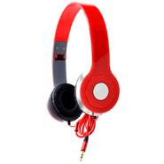 Auriculares BASS Estéreo plegables con micrófono integrado - Rojo al mejor precio solo en loi