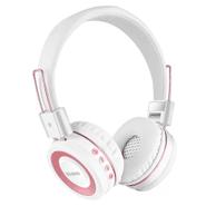 Auriculares Inalámbricos L100 Bluetooth 4.2 Plegables - Blanco y Rosa al mejor precio solo en loi
