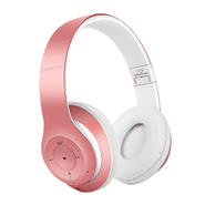 Auriculares Inalámbricos Bluetooth 4.2 Plegables - Rosa al mejor precio solo en loi