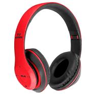 Auriculares Inalámbricos P15 Bluetooth con Radio FM Mic y Lector de SD - Rojo al mejor precio solo en loi