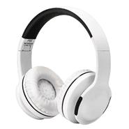 Auriculares inalámbricos P65 con Bluetooth 4.2, FM, Micrófono - Blanco al mejor precio solo en loi