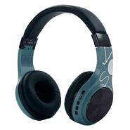 Auriculares Bluetooth SY-BT1607 Plegables con Micrófono - Celeste